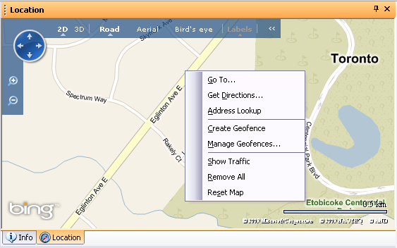 locationservices addresslookup map