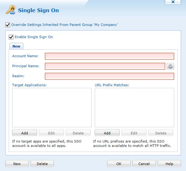 iOS Single Sign on