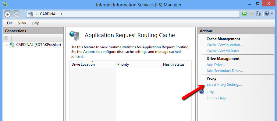 ERG Setup Step 1: Set Up Application Request Routing and URL