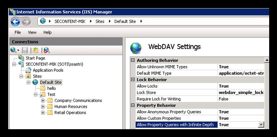Setting Up a WebDAV Server