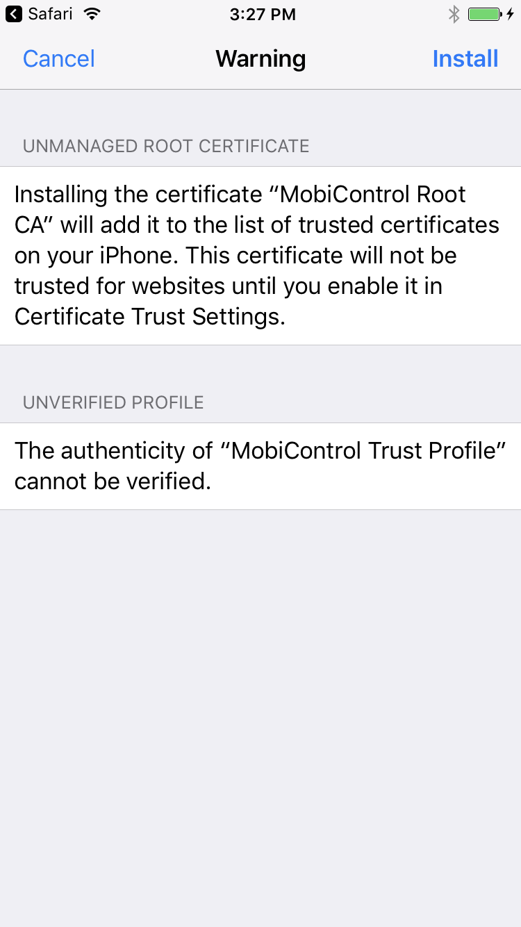 Add ios devices the trust profile 1betcityfo Image collections