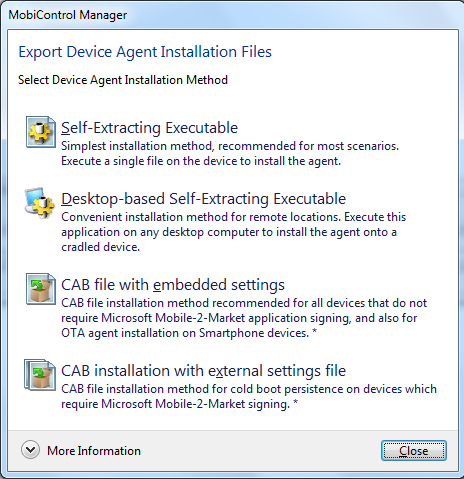 Device Agent Manager