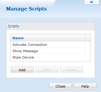 Android Script Manager