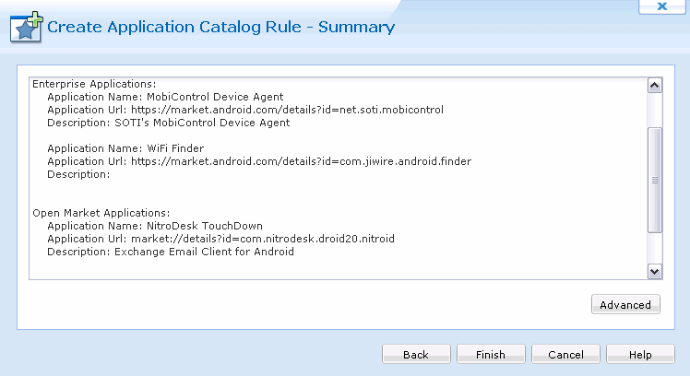 Android Application Catalog