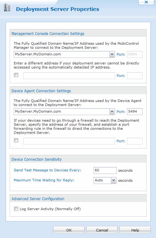 Registering MobiControl