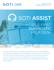 Download the SOTI Assist Brochure