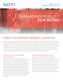 Managing Mobility for Retail brochure