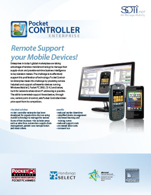 Pocket Controller Enterprise Brochure