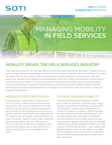 Managing Mobility for Field Services brochure